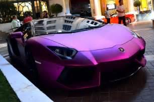 Matte Purple Lamborghini Matte Purple Lamborghini Aventador Cars