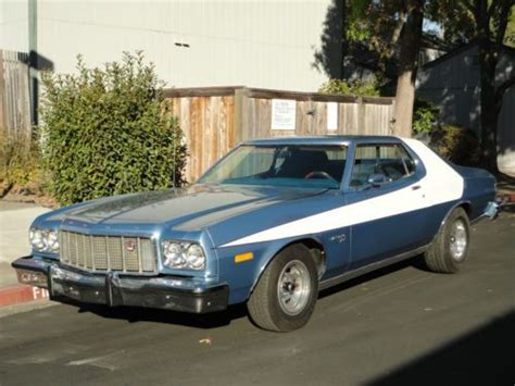 Starsky And Hutch Car Name Buy Used 1975 Ford Gran Torino Sport Beautiful Car
