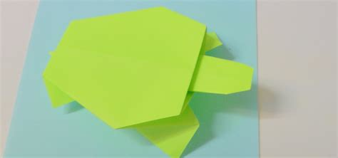 How To Fold A Paper Turtle - how to fold a turtle 171 tavin s origami wonderhowto