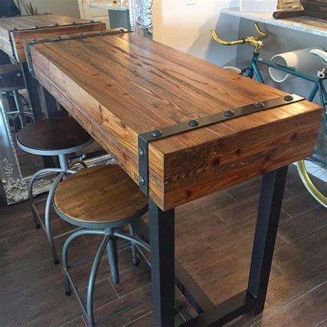 industrial bar height table best 25 bar height table ideas on bar tables