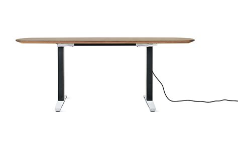 anthro sit stand desk renew sit to stand table oval herman miller