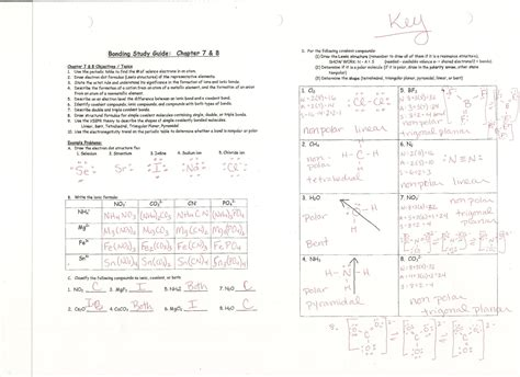 Chemistry A Study Of Matter 10 6 Worksheet Answers