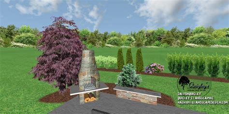 privacy plantings in hill tn nashville landscape