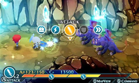Kaset 3ds Lord Of Magna Maiden Heaven lord of magna maiden heaven gameplay screenshot 3ds battle system