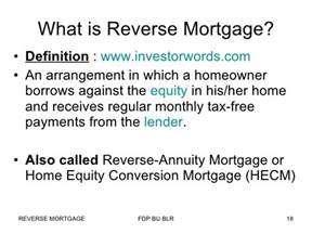 mortgage in india