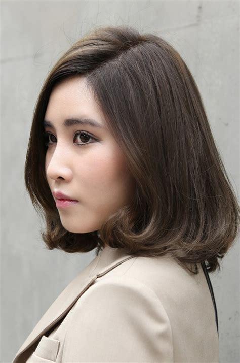 korean perm women korean hairstyle perm for short hair using dyna mucota