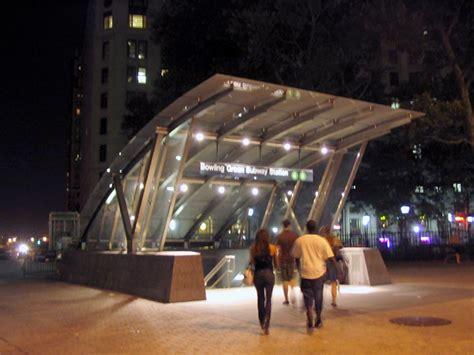 bowling green subway station financial district