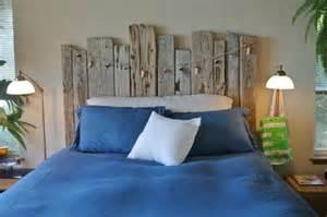 t 234 te de lit bois flott 233 pour une chambre d ambiance