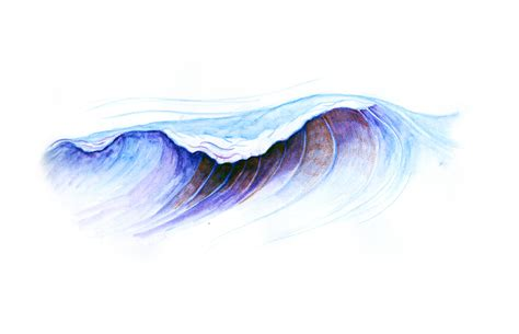 Drawing Waves by The Drawings And Of Dan Robinson Miller Drawing Waves