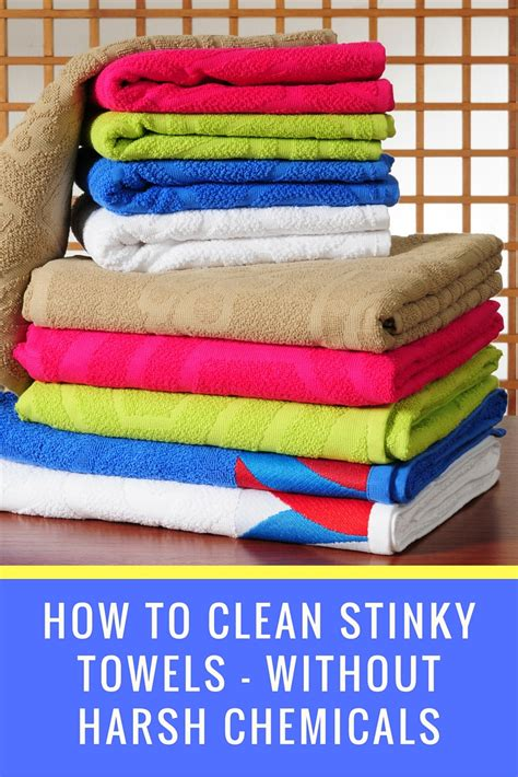 how to clean bathroom without chemicals how to get rid of the mildew smell in bath towels 187 nature