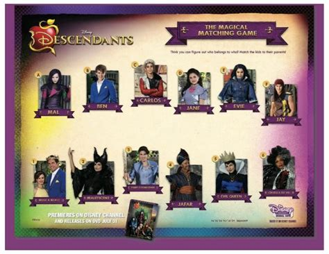 descendants coloring pages games free disney descendants magical matching game mama likes