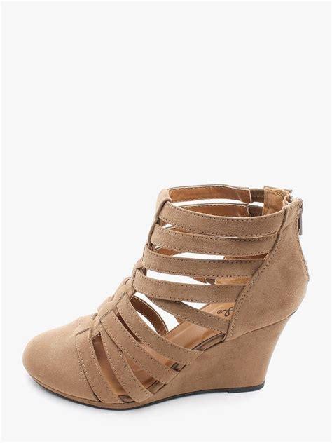 sandal heels cheap taupe o mania closed toe wedges 10 00 cheap