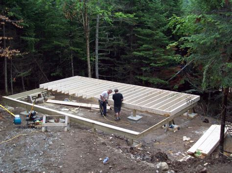 Macbeth Cabins by Cabin Foundation On Bedrock Help Small Cabin Forum