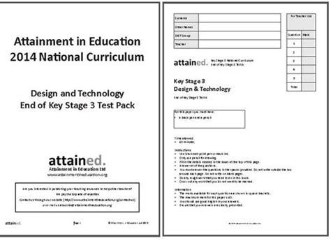 design technology assessment criteria ks3 11 to 14 years d t association