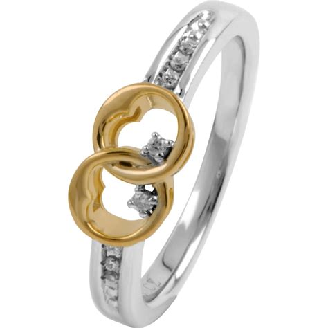always together sterling silver with 14k gold plating