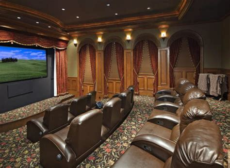 stunning home theaters   put  local