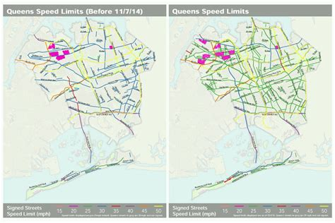 texas speed limit map dot releases borough by borough speed limit maps streetsblog new york city
