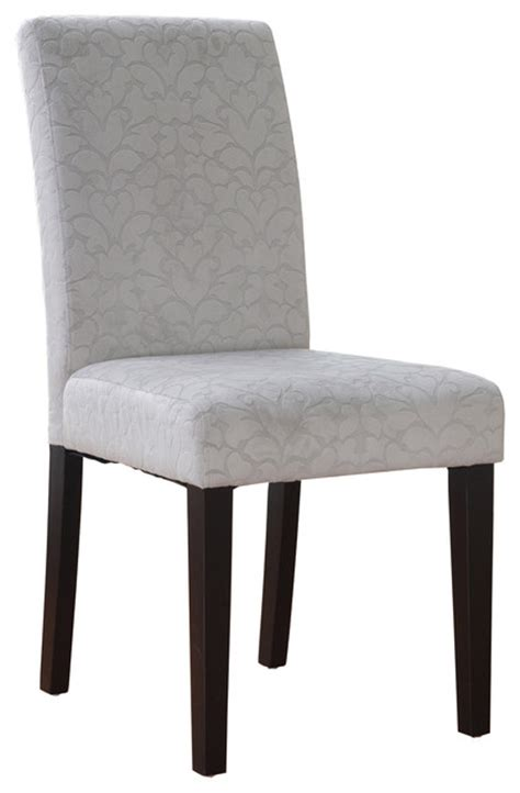 Grey Parsons Chair by Linon Charcoal Gray Upton Parsons Chair