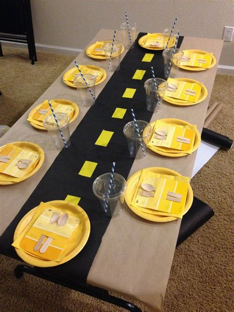 construction party decorations kid party ideas