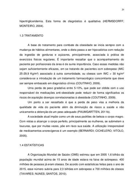 A UTILIZAÇÃO DA SIBUTRAMINA E DO ORLISTAT NO TRATAMENTO DA