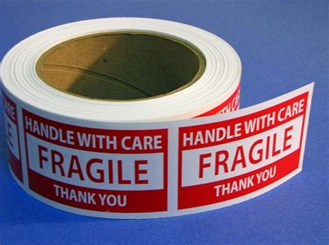 Label Sticker Pengiriman Fragile 2 fragile handle with care sticker labels 500 3 x 2 fragile32r