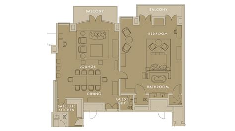 presidential suite floor plan villa presidential suites saxon hotel villas and spa