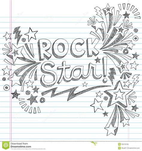 how to create lust in doodle rock sketchy doodles vector illustratio royalty