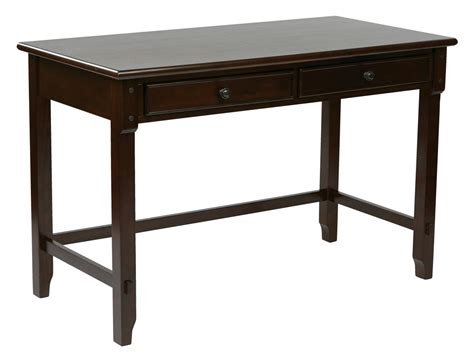 solid wood desk with drawers quot devonshire 47 quot quot desk in cabinet finish with dual storage