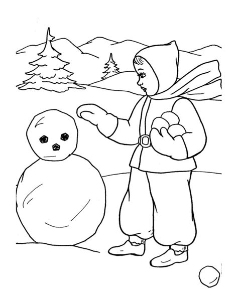 Making a snowman coloring page patterns pinterest