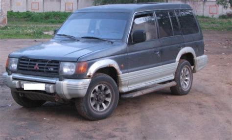 used 1992 mitsubishi montero photos 2972cc gasoline automatic for sale