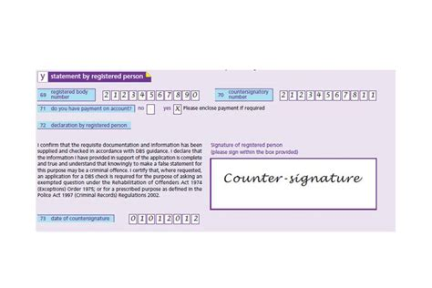Credit Card Application Form Dbs Dbs Application Form Guide For Countersignatories Gov Uk
