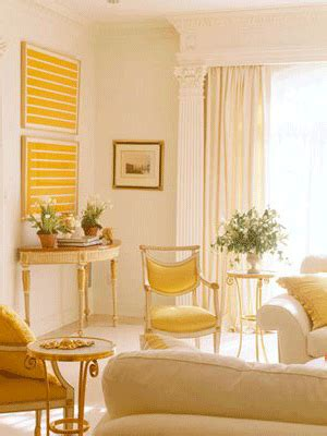 Decorating Ideas For Yellow Walls In Living Room Yellow Color Decorating Interior Design And Color Psychology