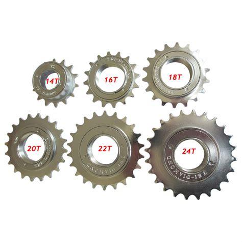 Freewheel Sprocket Bmx Single Speed 24t Brown bicycle freewheel 14t 16t 18t 20t 22t 24t 34mm single speed bike freewheel bmx flywheel sprocket