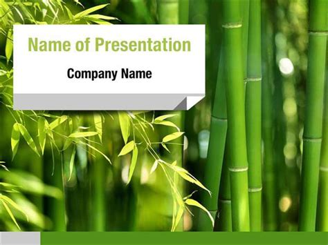 Bamboo Forest Powerpoint Templates Bamboo Forest Powerpoint Backgrounds Templates For Bamboo Powerpoint Template