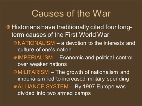 Was Nationalism The Cause Of Ww1 Essay by College Essays College Application Essays Four Term Causes Of Ww1