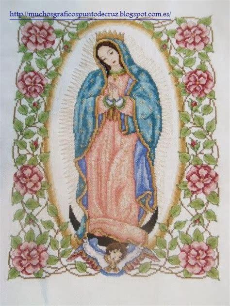 imagenes catolicas en punto de cruz imagenes de puntada de cruz de la virgen de guadalupe imagui