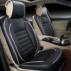 Leather Car Seat Covers Free Shipping 100 Leather Car Seat Covers Fashion Design