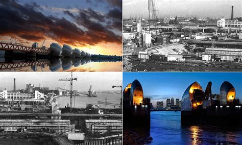 thames barrier closures 2018 thames barrier turns 30 stunning images reveal the