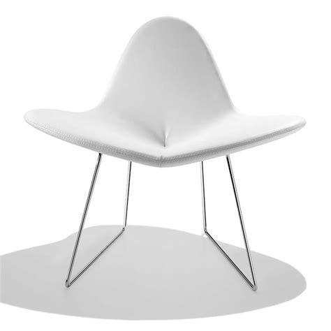 petit fauteuil design blanc my flower sur cdc design