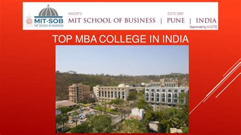 Corporate Mba Programs In India by Top Business Schools In India