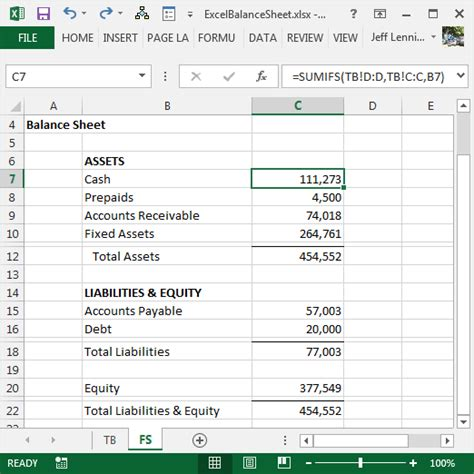 how to make balance sheet in excel 2007 pdf sle