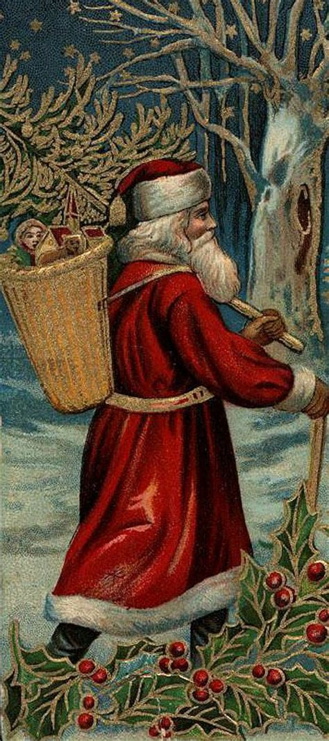 artists conception  santa   appeared   late victorian period