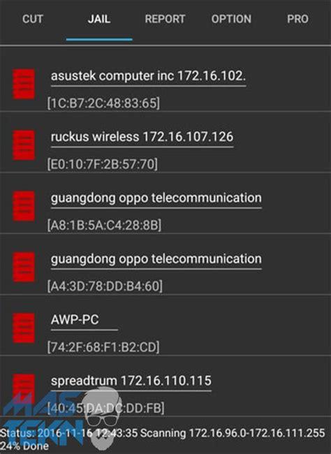 tutorial netcut untuk android cara memutuskan koneksi internet wifi di android dengan