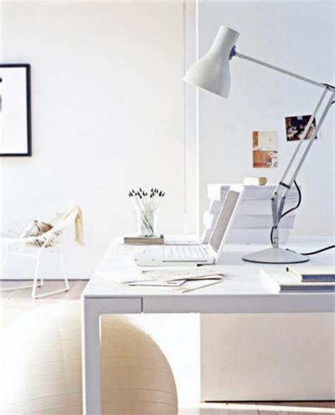 stylish curved minimalist desk digsdigs 34 most stylish minimalist home offices you ll ever see