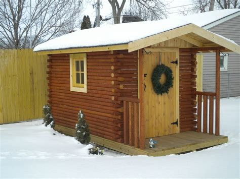 Landscape Timbers Tsc Cabins Built Out Of Landscaping Timbers