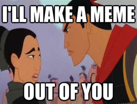 Funny Character Memes - mulan memes funny jokes about disney animated movie