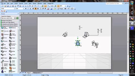 Collection of tutorial membuat erd dengan visio 2007 tutorial tutorial membuat erd dengan visio 2007 tutorial visio 2007 membuat diagram jaringan komputer ccuart Image collections