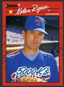 do they still make baseball cards nolan 5 000 k 039 s 1990 donruss baseball card 659 ebay