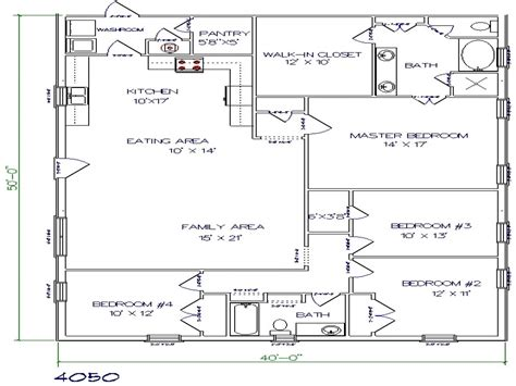 house plans texas texas barndominium floor plans 40x50 metal building house