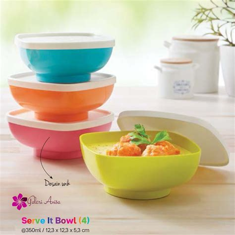 serve it bowl tupperware katalog promo tupperware terbaru